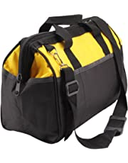 MultiWare Heavy Duty Tool Bag Strong Bag Storage Muti Purpose With Shoulder Strap Yellow and Black