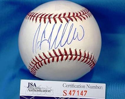 b8e6fd40f1f Image Unavailable. Image not available for. Color  Welington Castillo Autographed  Baseball - COA Major League - JSA Certified ...