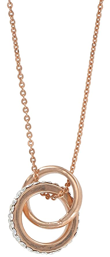 Amazoncom First Blush Rose Gold Pendant Double Ring Toys Games