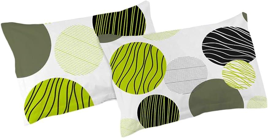 Fresh - SoulBedroom 2 Fundas de almohada extra, 100% Algodón ...