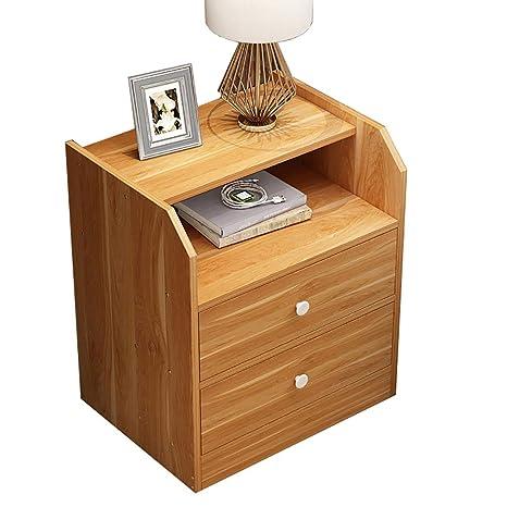 Amazon.com: WSNBB - Mesita de noche simple con diseño de ...
