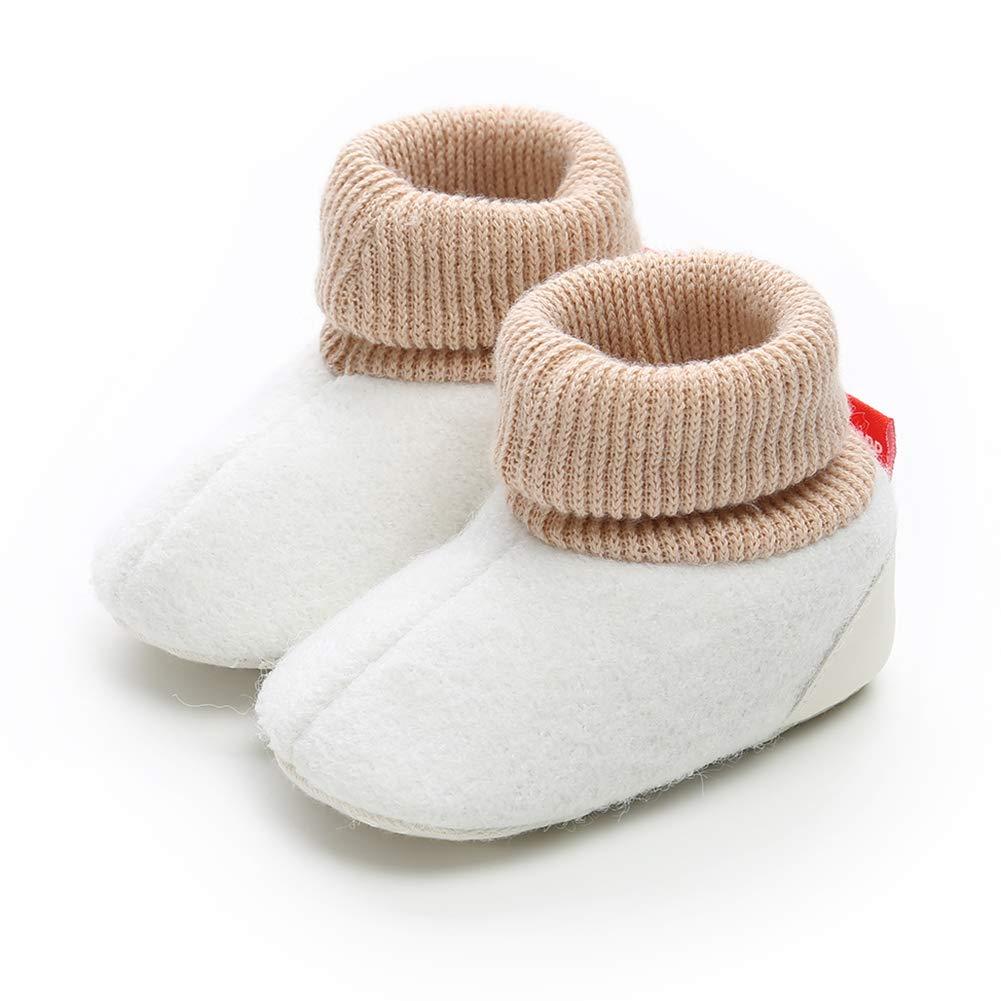 save off 70c18 df47a Scarpe di Cotone più Velluto Invernale per Bambini Scarpe Calde Basse per Bambini  0-1