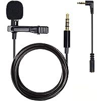 Micrófono con clip de solapa, micrófono de lavalier