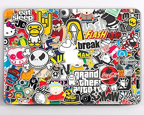 Modo design laptop jmd stickers stick bomb graffiti macbook decal macbook vinyl macbook air and pro