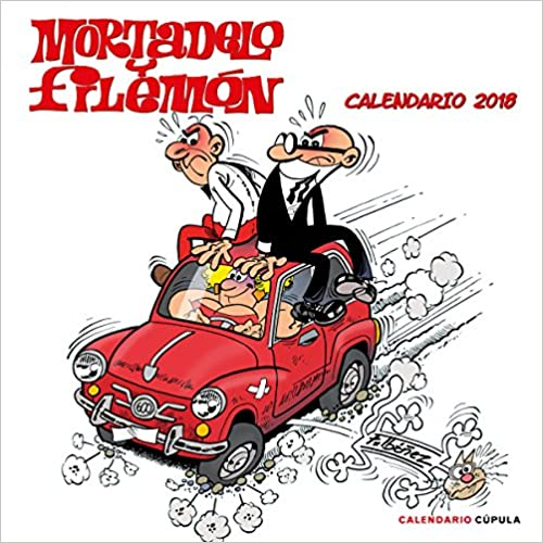 Calendario Mortadelo Y Filemón 2018 por Francisco Ibáñez epub