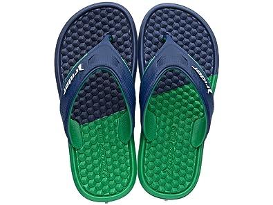 See Sizes Rider Kids Sandal Boys Flip Flops Sandals w Strap Navy Blue