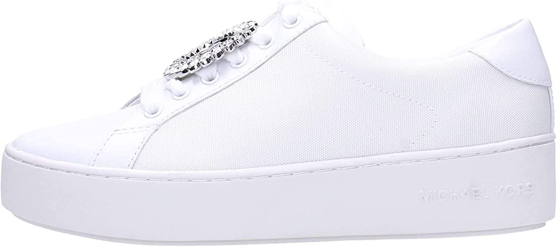 michael kors poppy lace up trainers