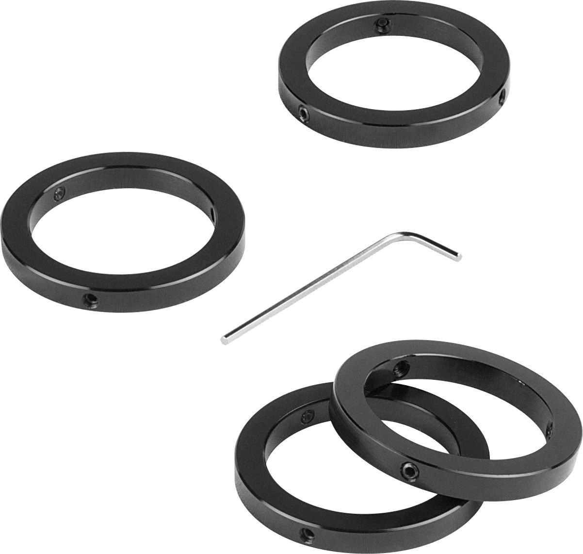 1.25inch Orion Telescope Eyepiece Parfocal Rings, Set of Four