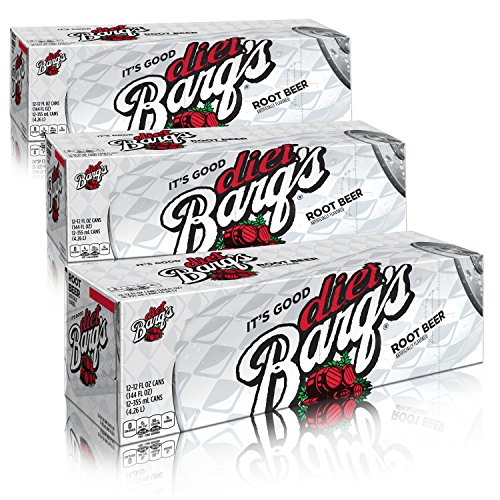 Diet Barq's Fridge Pack Bundle, 12 fl oz, 36 Pack ()