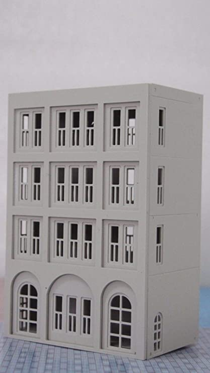 Shop N Scale 1:160 outland models Railway Modern City Building 4-Story House