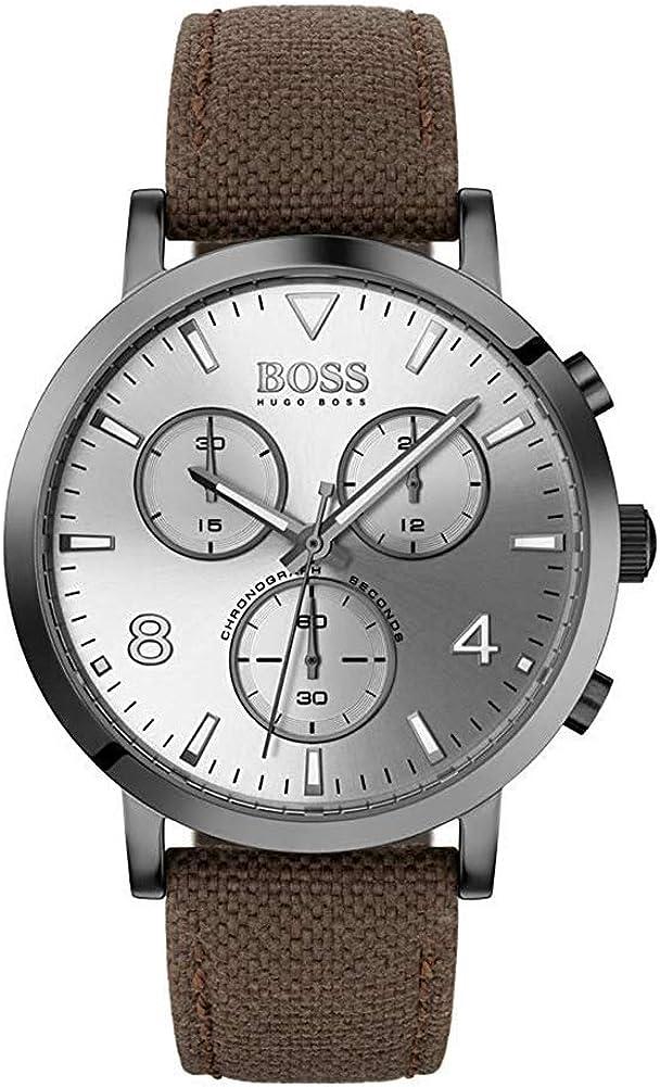Hugo BOSS Reloj Cronógrafo para Hombre de Cuarzo con Correa en Nailon 1513690