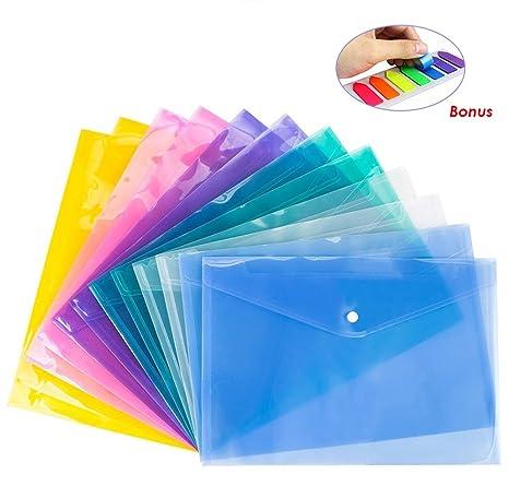Amazoncom 12 Pack Document Folder Copy Safe Project Pocket Us