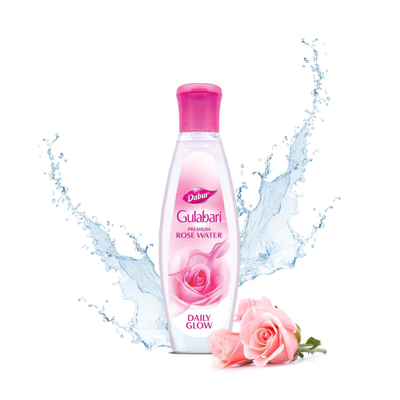 Rose water for dark lips
