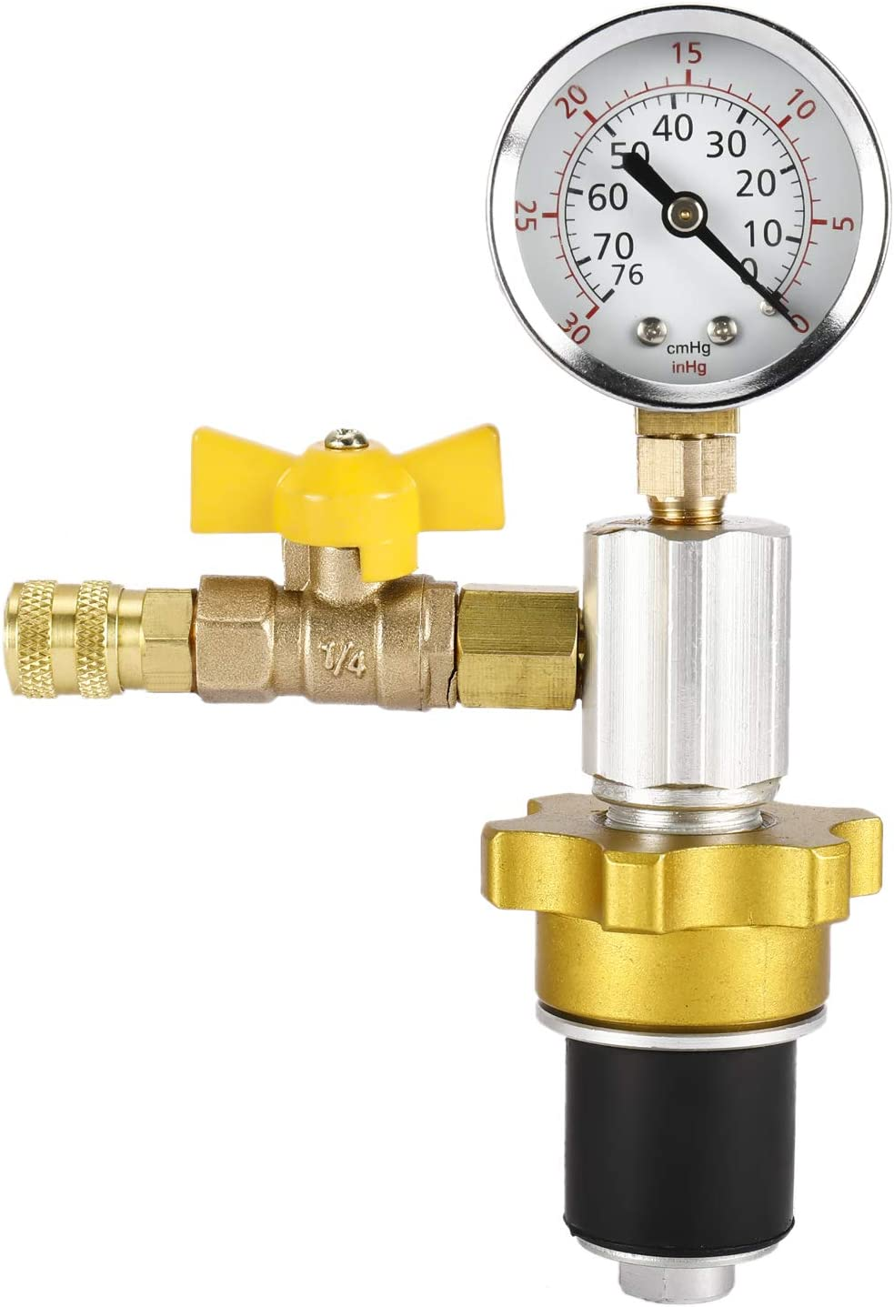 8MILELAKE Engine Cooling System Vacuum Radiator Purge /& Refill Tool Set