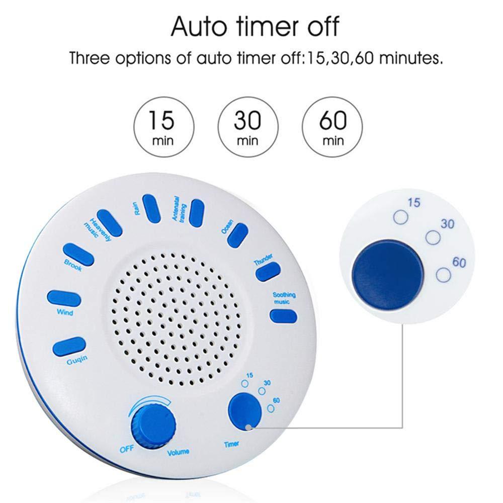 Amazon com: Leegoal White Noise Sound Machine, Premium