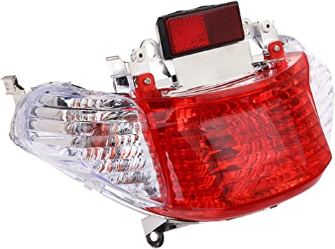 Flameer Tail Light Turn Signal for GY6 50cc Tao Tao,Coolsport,Roketa Chinese Scooter