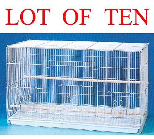 "Mcage Lot of Ten Aviary Breeding Breeder LoveBird Finch Parakeet Finch Flight Cage 20""x14""x14""H from Mcage"