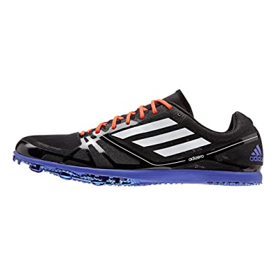 size 40 1da7b 9bf51 Amazon.com   Adidas Adizero Avanti 2 Mid Long Distance Track Spikes Shoes  Black White Mens Size 5   Track   Field   Cross Country