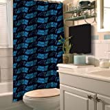 The Northwest Company NFL Carolina Panthers Shower Curtain by Northwest