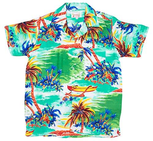 ragstock-mens-beached-sailboat-print-hawaiian-shirt-green-medium