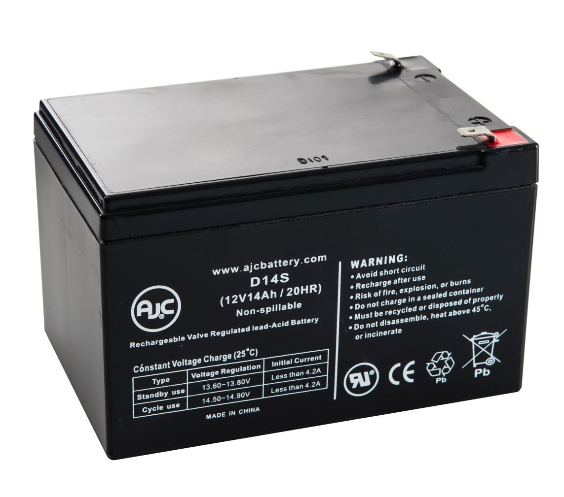 Tempest TD14-12 12V 14Ah Sealed Lead Acid Battery - This is an AJC Brand Replacement