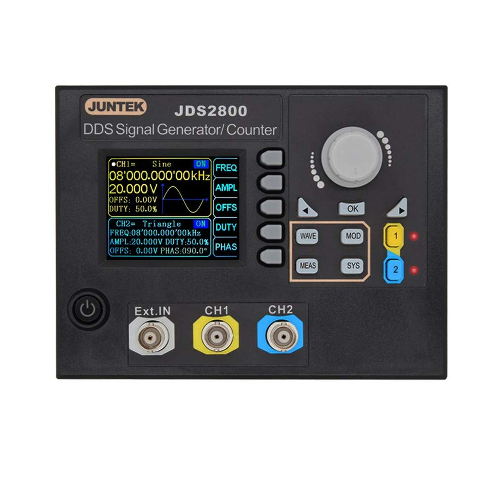 Onepeak JDS2800-60M 60MHZ Digital Dual-Channel DDS Function Signal Generator Arbitrary Waveform Pulse Signal Generator