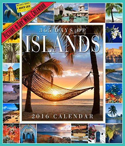 365 Days Of Islands Picture-A-Day Wall Calendar 2016