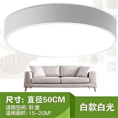 ANGEELEE Led lampe de plafond moderne minimaliste chambre chaude de la salle d'éclairage lampe ronde mariage créatif chambre à coucher