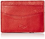 Fossil Men's Elliot Magic Wallet, Red, One Size
