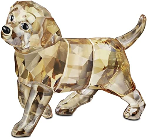 SWAROVSKI Golden Retriever Figurine, Standing