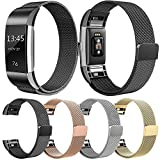 Alonea Milanese Stainless Steel Watch Band Strap Bracelet For Fitbit Charge 2