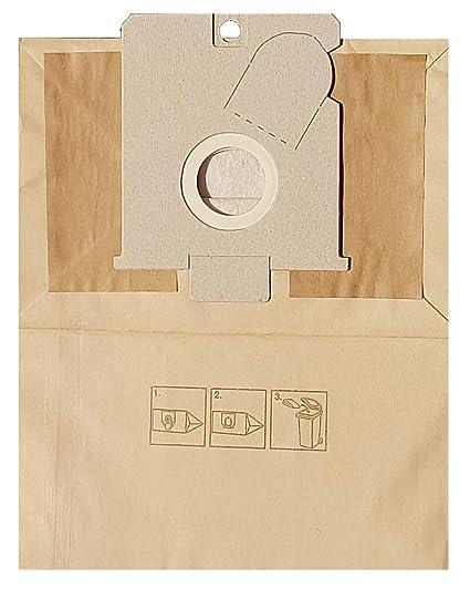 10 Bolsas de papel para aspiradora (1 micro filtro) apta ...