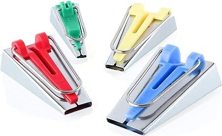 WINOMO Una serie di 4/dimensioni tessuto nastro Maker verbindliche Strumenti cucire Quilting 6/mm 12/mm 18/mm 25/mm