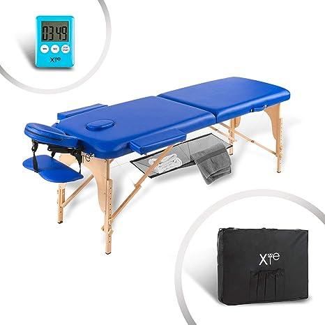 Lettino Da Massaggio In Legno Fisso.Lettino Da Massaggio Lettini Per Massaggi Estetica 2 Zone Legno
