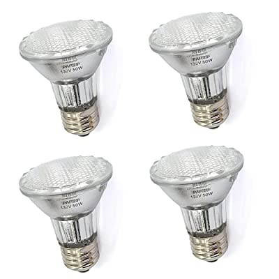 Buy Par20 50 Watt E26 Medium Base Halogen Flood Light Bulbs Dimmable Bulbs For Range Hood Lights Ceiling Fan Table Light Online In Indonesia B07vfsx4nq