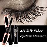 #6: TGIN 4D Silk Fiber Eyelash Mascara Extension Makeup Black Waterproof Kit Eye Lashes