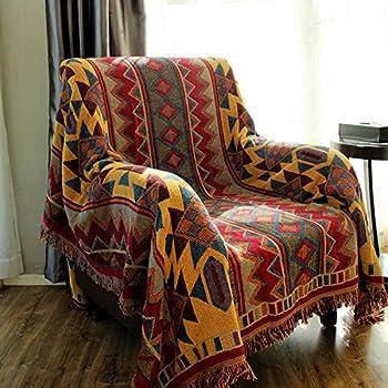 Boho Throw Blankets Amazing Amazon LELVA Boho Bedspread Bohemian Tapestry Woven Throw