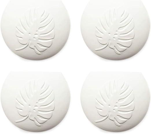 Set di 4 umidificatori in ceramica Botanical a1658 piatti per il fissaggio al termosifone
