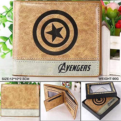 Amazon.com: Marvel Comics The Avengers Captain America Wallet Bailini Purse Women Billeteras Mujer Carteras Men Package: Kitchen & Dining