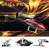 Gartt Gt450l DFC TT Torque Tube Helicopter With (Glass Carbon Fiber Canopy &Fiber Glass Main Blade) Fits Align Trex 450L Helicopter