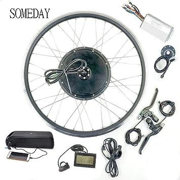 SOMEDAY 48V1000W Kit de conversión de Bicicleta eléctrica E-Bike ...