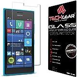 TECHGEAR® Nokia Lumia 735 & Lumia 730 VERRE Édition Original Verre Trempé Protecteur d'Ecran