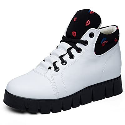 2017 Automne Casual Sneaker Couples Chaussures Haute Top Trekking Chaussures Respirant Sport Chaussures De Marche Ports En Plein Air Antiskid Amorti Bottes 35-40
