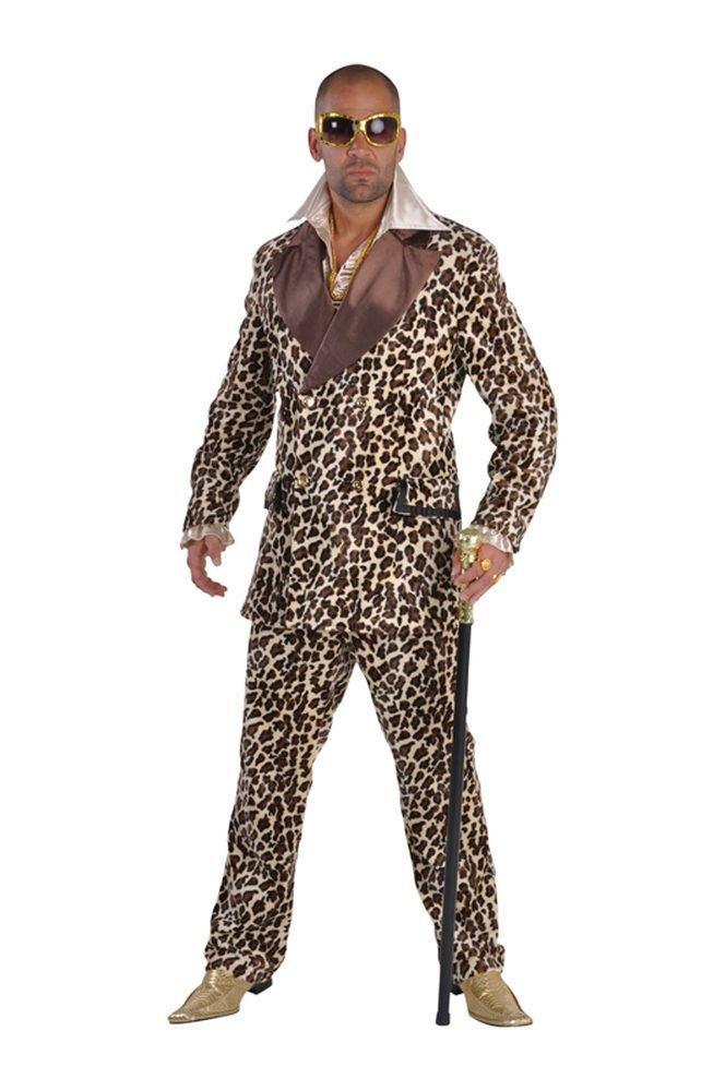 Combinaison léopard Lude Party Homme Pimp Suite de luxe