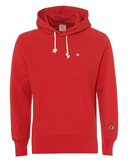 1781f4847333 Champion Mens Reverse Weave Hoodie XXL Red  Amazon.co.uk  Clothing