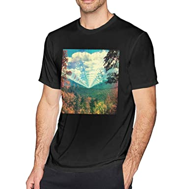 a08ae1499201 HEETENGGRTTENG O-Neck Fashion Tame Impala InnerSpeaker Short Sleeve T-Shirt  for Mens and Boys Black | Amazon.com
