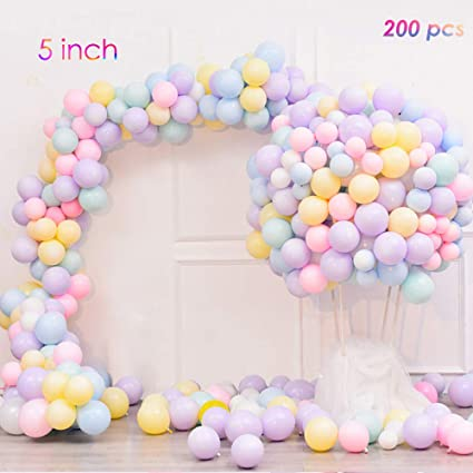 Celebrations & Occasions Party Supplies Pack of 30 Macaron Candy Colored Party Balloons Pastel Latex Balloons 5 Inch