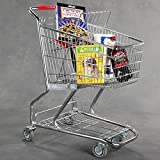 New Extra Tough Steel Quality Grocery Shopping Carts 36''h X 30''l