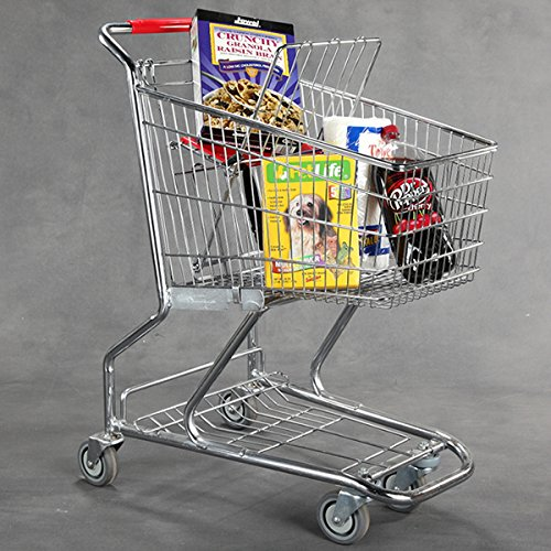 New Extra Tough Steel Quality Grocery Standard Shopping Carts 38''h X 37 by Store Shopping Cart