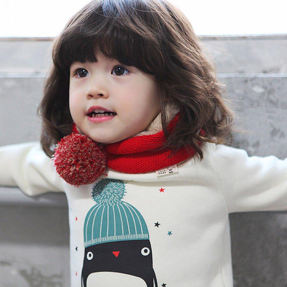 Lunga Manica Toddler Bambini Bambina Bambino Cappotto Elegante Felpa T10OOq